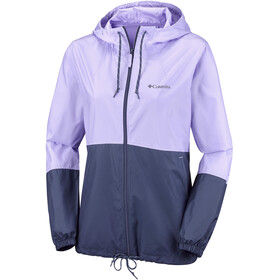 Columbia Flash Forward Windbreaker Jacket Women soft violet/nocturnal